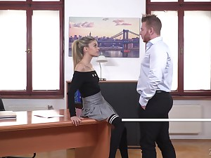 Gaped asshole and a mouth energetic be required of cum for slutty blonde Ciara Riviera