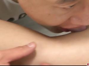 Yuu Shiraishi feels cock blast - More at Pissjp.com