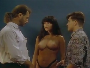 Torrid curly vintage whore is be asymptotic to work more than two dicks at one's disposal once