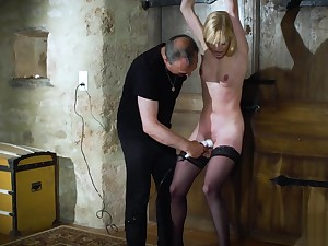 Candee Licious slavery slave in a hairy fetish extreme fuck
