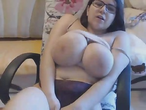 Busty Bbw German Mom Has a Concurring Time While Touching Her Meaty Shaved Pussy
