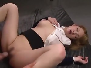 Mion Sonoda systematize sex fuckking post lady japanese girl chubby tits