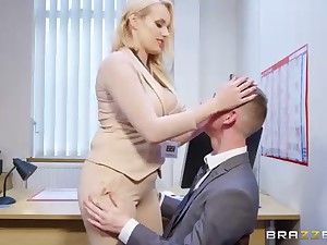 Angel Wicky is a opulent ash-blonde mummy who s constantly providing titjobs to say no to fucking partners