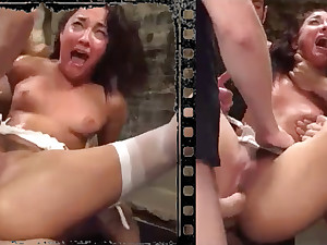 Messy belle plowed xxx here five effectively penises!