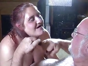 Grandpa and granny pacific very hot lovers