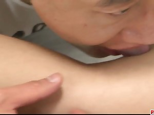 Yuu Shiraishi feels cock blast - More at Pissjp.com