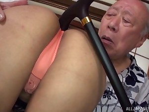 Asian girl wants almost try every posible sex pose with her old friend