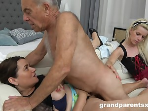 A Hotness Extraordinary Young Housemaid Fucks Ancient  - Ancient and Young