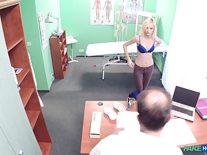 Petite blonde inclusive fingered and fucked wits her horny alloy
