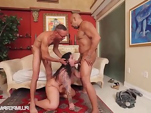 Shane Diesel, Ramon vs  Erika Xstacy - threesome sex